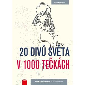 20 divů světa v 1000 tečkách | Thomas Pavitte