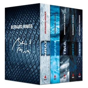 5 x Bernard Minier - box Mráz, Kruh, Tma, Noc, Sestry | Jiří Žák, Bernard Minier