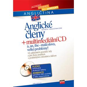 Anglické členy + multimediální CD | Anglictina.com