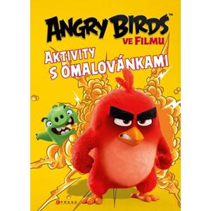 Angry Birds ve filmu - Aktivity s omalovánkami | kolektiv