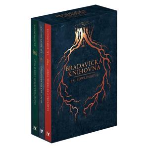 Bradavická knihovna - BOX | J. K. Rowlingová, Pavel Medek