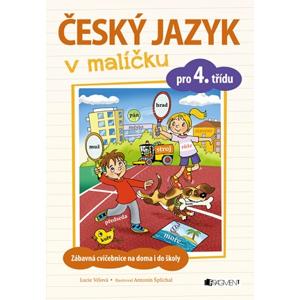Český jazyk v malíčku pro 4. třídu | Lucie Tomíčková