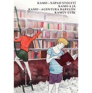 Kamo 1 - 4 box | Daniel Pennac, Tadeáš Kotrba