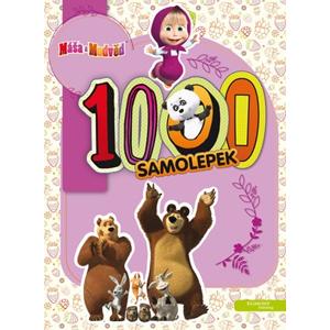 Máša a medvěd - 1000 samolepek | I. Trusov, O. Kuzovkov