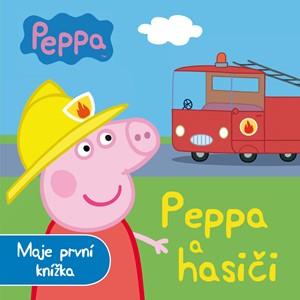 Peppa - Peppa a hasiči - Moje první knížka   Astley Baker Davies, Astley Baker Davies