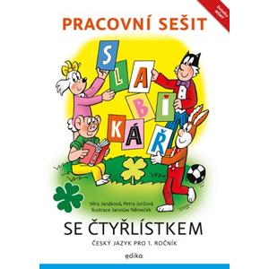 Pracovní sešit – Slabikář se Čtyřlístkem | Petra Jurčová, Věra Janáková