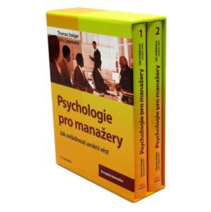 Psychologie pro manažery | Thomas Steiger, Eric Lippmann