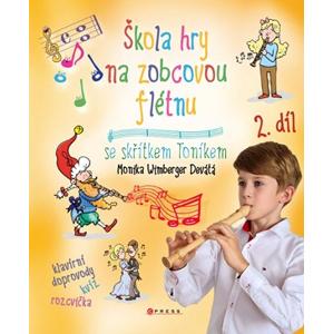 Škola hry na zobcovou flétnu 2 | Libor Drobný, Monika Devátá