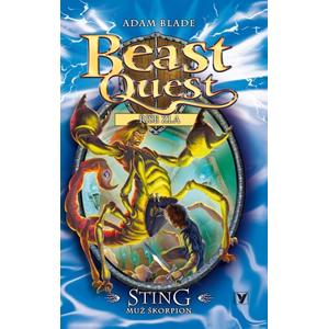 Sting, muž škorpion - Beast Quest (18) | Kateřina Závadová, Adam Blade