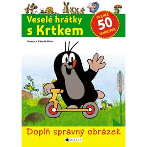 Veselé hrátky s Krtkem – doplň správný obrázek | Zdeněk Miler