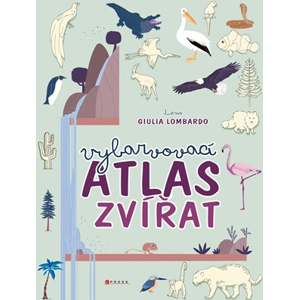 Vybarvovací atlas zvířat | Giulia Lombardo