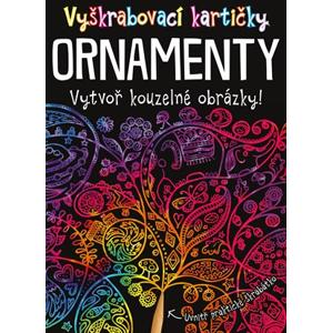 Vyškrabovací kartičky ORNAMENTY | kolektiv, Marie Dupalová
